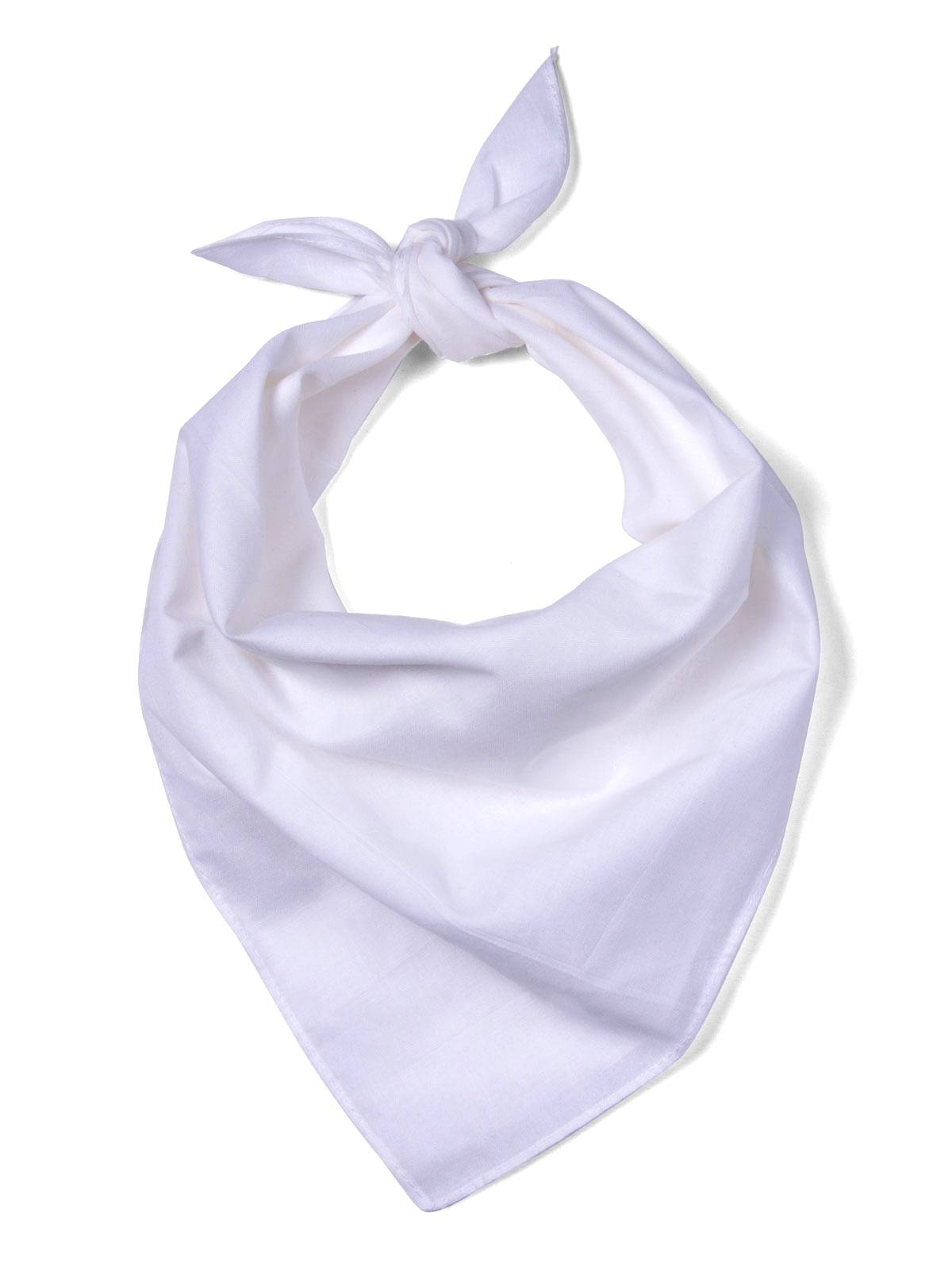 Customized White Bandannas