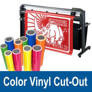Color Vinyl Cut-Out