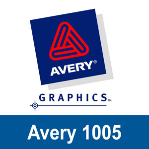 Avery 1005 (Laminated Gloss)