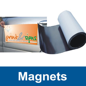 Magnetic Signs (custom sizes)
