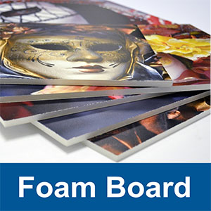 "Foam Board, 1/2"" Thick"