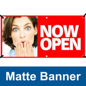 Matte Banner